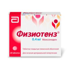 Физиотенз таблетки п.о 0,4мг №28