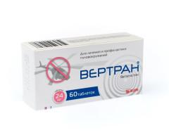 Вертран таблетки 24мг №60