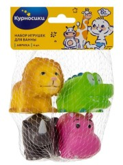 Курносики игрушка для ванной Африка 25031