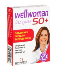 Велвумен 50+ таблетки №30