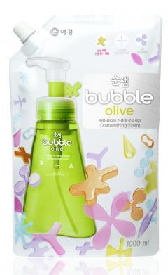 Сунсэм средство для мытья посуды оливки сменн.блок 1л