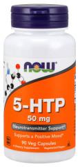 Нау Фудс 5-HTP (L-5-гидрокситриптофан) капсулы 440мг №90