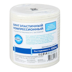 Клинса Бинт эластичный компрессионный СР 10х450см (застежка)