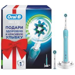 Орал Би зубная щетка электрическая Про 570/D16.524U