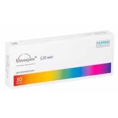 Минирин Мелт таблетки лиофилизат 120мкг №30