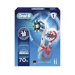 Орал Би набор зубная щетка электрическая Профешнл Кеа 500 т.3756+з/щетка электрическая Звездн.войны для детей D12.513К т.3709