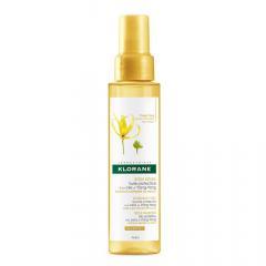 Клоран масло солнцезащитное для волос воск иланг-иланг 100мл