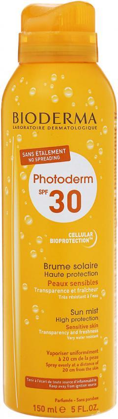 Биодерма Фотодерм спрей-вуаль солнцезащитный SPF30+ 150мл