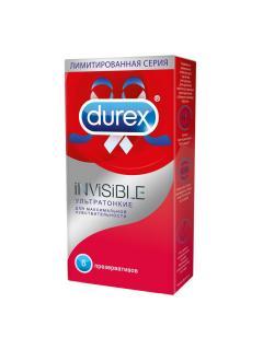 Дюрекс презервативы Invisible (ультратонкие) №6