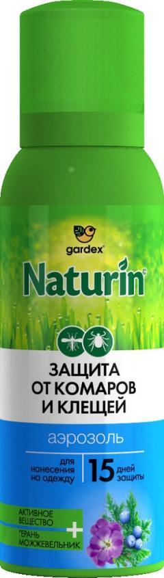 Гардекс Натурин аэрозоль от клещей/комаров на одежду 100мл