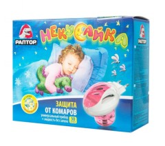 Раптор Некусайка набор прибор+жидкость 30ночей для детей