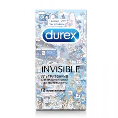 Дюрекс презервативы Invisible (ультратонкие)/Дудл №12