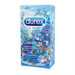 Дюрекс презервативы Classic (классические)/Дудл №12