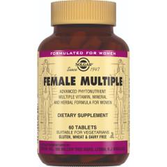 Солгар Мультивитаминный и минеральный комплекс для женщин таблетки №60