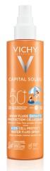 Виши Идеал Солей спрей для детей солнцезащитный резист SPF50 200мл