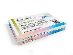 Лекюрейт экспресс-тест антител к коронавирусной инфекции SARS-CoV2 IgG/IgM №1 (ланцет+салфетка)