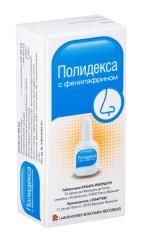Полидекса с фенилэфрином спрей назальный 15мл