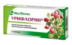 Урифлорин таблетки 300мг №20