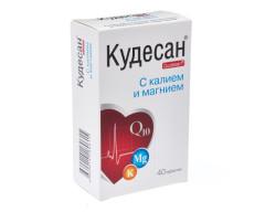 Кудесан Q10 таблетки Калий/магний №40