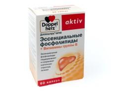 Доппельгерц актив Эссенциальные фосфолипиды капсулы №60