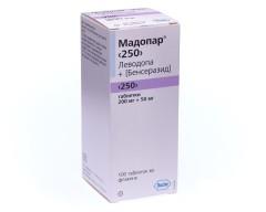 Мадопар 250 таблетки №100