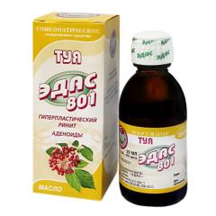 Эдас-801 Туя (ринит, аденоиды) масло 25мл