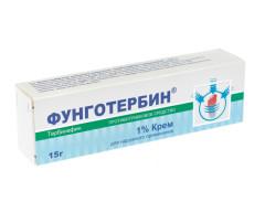 Фунготербин крем 1% 15г