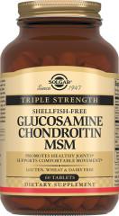 Солгар Глюкозамин-Хондроитин Комплекс МСМ таблетки №60