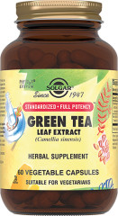 Солгар Экстракт листьев зеленого чая капсулы №60