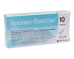 Бронхо-ваксом капсулы 3,5мг №10