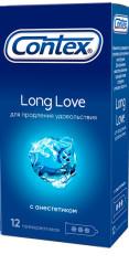 Контекс презервативы Long Love (анестетик) №12