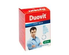 Дуовит для мужчин таблетки п.о №30