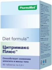 Диет/ф Цитримакс плюс таблетки №90