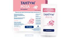 Тантум Роза порошок для приготовления раствора вагинального 500мг №10