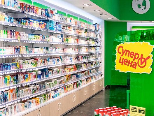 6-е место в топ-20 аптечных сетей в России